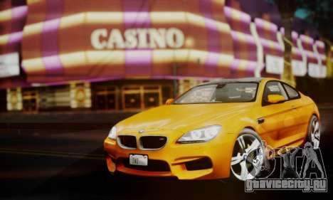 BMW M6 F13 2013 для GTA San Andreas вид справа