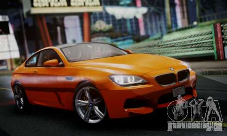 BMW M6 F13 2013 для GTA San Andreas вид слева
