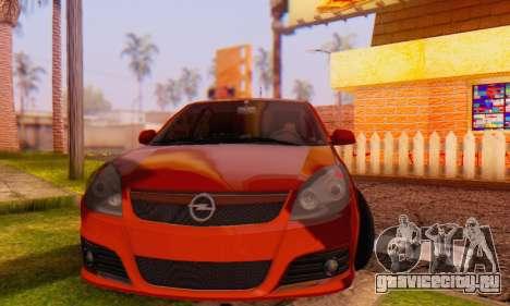 Opel Vectra C для GTA San Andreas вид сзади
