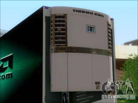 Прицеп AMD Phenom X4 для GTA San Andreas вид сзади