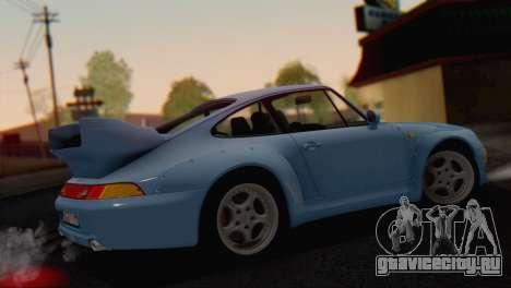 Porsche 911 GT2 (993) 1995 V1.0 SA Plate для GTA San Andreas колёса