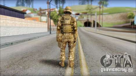 Desert GRU from Soldier Front 2 для GTA San Andreas второй скриншот