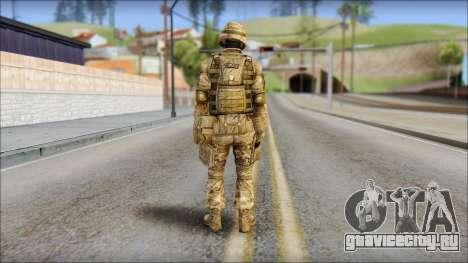 Desert GRU from Soldier Front 2 для GTA San Andreas второй скриншот
