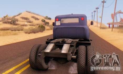 ЗиЛ 130В для GTA San Andreas вид справа