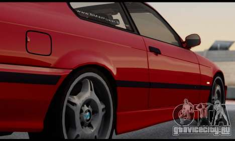 BMW M3 E36 1994 для GTA San Andreas вид изнутри