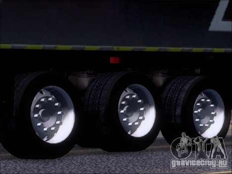 Прицеп Chereau Coca Cola Zero Truck для GTA San Andreas вид сбоку