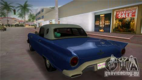 Ford Thunderbird для GTA Vice City вид слева