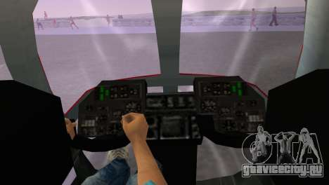 Ми-34 для GTA Vice City вид сзади слева