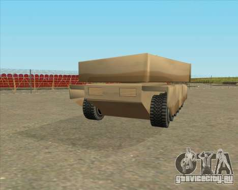 Dozuda.s Primary Tank (Rhino Export tp.) для GTA San Andreas вид слева