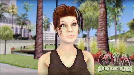 Best Lara Croft для GTA San Andreas третий скриншот