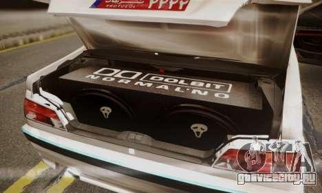 Peugeot Pars Limouzine для GTA San Andreas вид сбоку