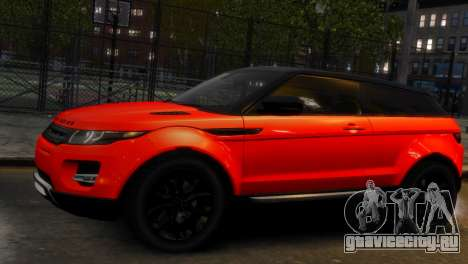 Land Rover Range Rover Evoque для GTA 4