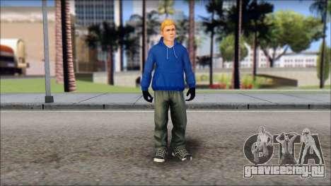 Jimmy from Bully Scholarship Edition для GTA San Andreas второй скриншот