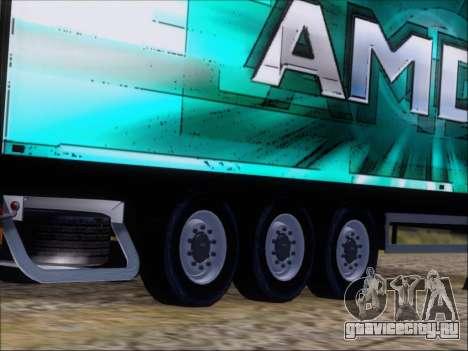 Прицеп AMD 64 Athlon X2 для GTA San Andreas вид сбоку