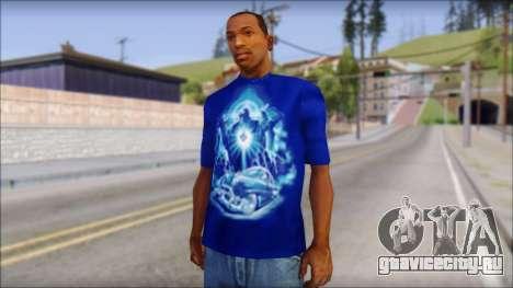 Lowrider Blue T-Shirt для GTA San Andreas