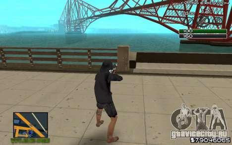 C-HUD by SampHack v.8 для GTA San Andreas второй скриншот