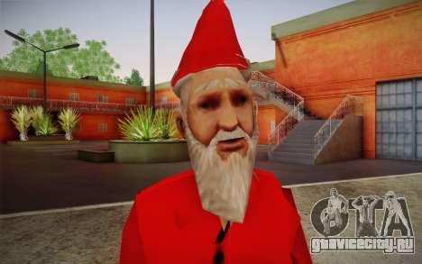 Санта Клаус для GTA San Andreas третий скриншот