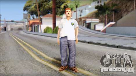 Russell from Bully Scholarship Edition для GTA San Andreas второй скриншот