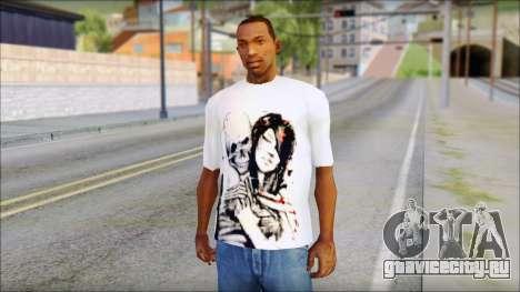 BFMV Russian Roulette T-Shirt для GTA San Andreas
