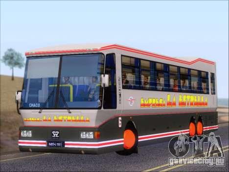 San Antonio Augusto - Empresa La Estrella для GTA San Andreas колёса