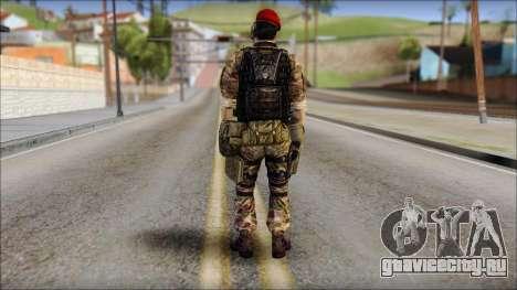 Forest GRU Vlad from Soldier Front 2 для GTA San Andreas второй скриншот