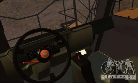 Caterpillar 797 для GTA San Andreas вид сзади