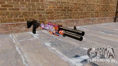 Ружьё Franchi SPAS-12 Graffitti для GTA 4