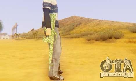 Camo M16 для GTA San Andreas четвёртый скриншот