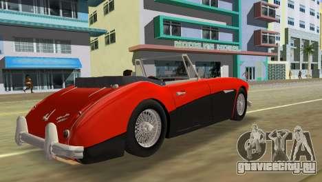 Austin-Healey 3000 Mk III для GTA Vice City вид слева