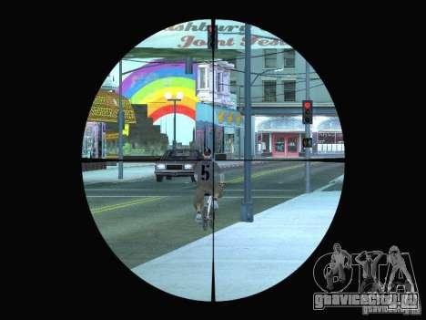 Sniper mod: Realism для GTA San Andreas второй скриншот