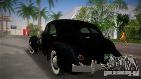 Cord 812 Charged Beverly Sedan 1937 для GTA Vice City вид слева