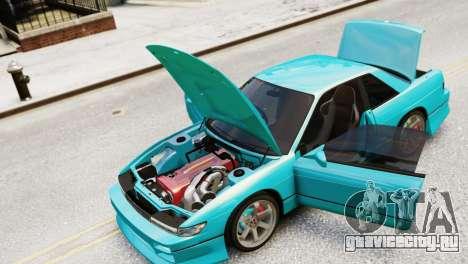 Nissan Silvia S13 v1.0 для GTA 4 вид справа