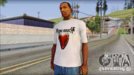 Papa Roach The Best Of To Be Loved Fan T-Shirt для GTA San Andreas