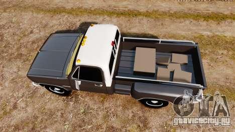GMC 454 Pick-Up для GTA 4 вид справа