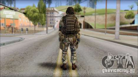 Forest GROM from Soldier Front 2 для GTA San Andreas второй скриншот