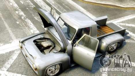 Ford FR100 Stance для GTA 4 вид справа