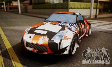 Nissan 350z Angel Beast Itasha Edition для GTA San Andreas