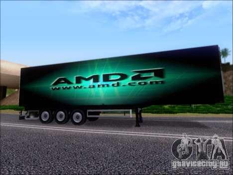 Прицеп AMD Phenom X4 для GTA San Andreas двигатель