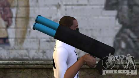 M20 BRS Rocket Launcher для GTA San Andreas третий скриншот