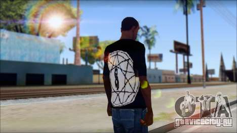 SlipKnoT T-Shirt mod для GTA San Andreas второй скриншот