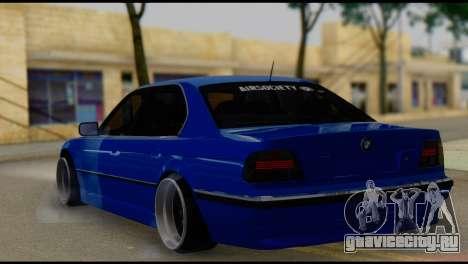BMW 740i E38 для GTA San Andreas вид слева