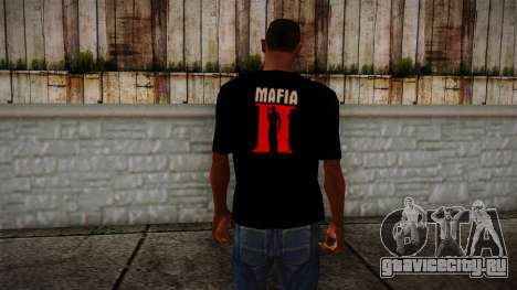 Mafia 2 Black Shirt для GTA San Andreas второй скриншот