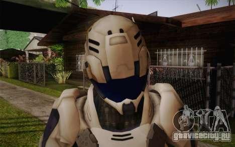 Suit from Vanquish для GTA San Andreas третий скриншот