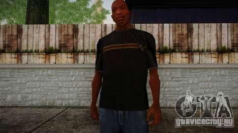 Black RX T-Shirt для GTA San Andreas