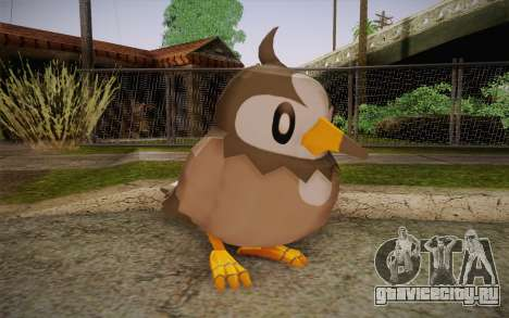 Starly from Pokemon для GTA San Andreas