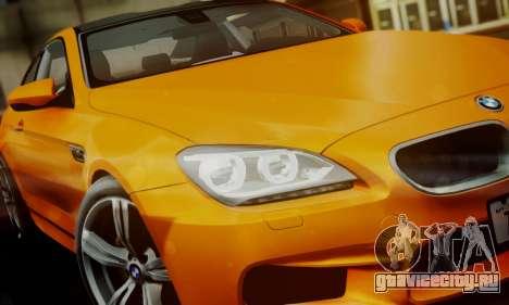 BMW M6 F13 2013 для GTA San Andreas двигатель