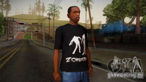 Zombie Polo Shirt для GTA San Andreas
