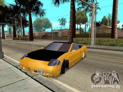 Alpha HD Cabrio для GTA San Andreas вид изнутри