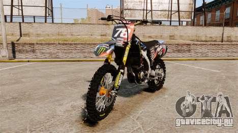 Yamaha YZF-450 v1.13 для GTA 4