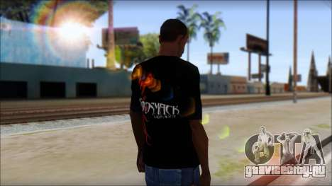 Godsmack T-Shirt для GTA San Andreas третий скриншот